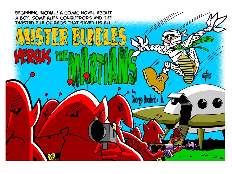 Mr. Bundles Versus The Martians