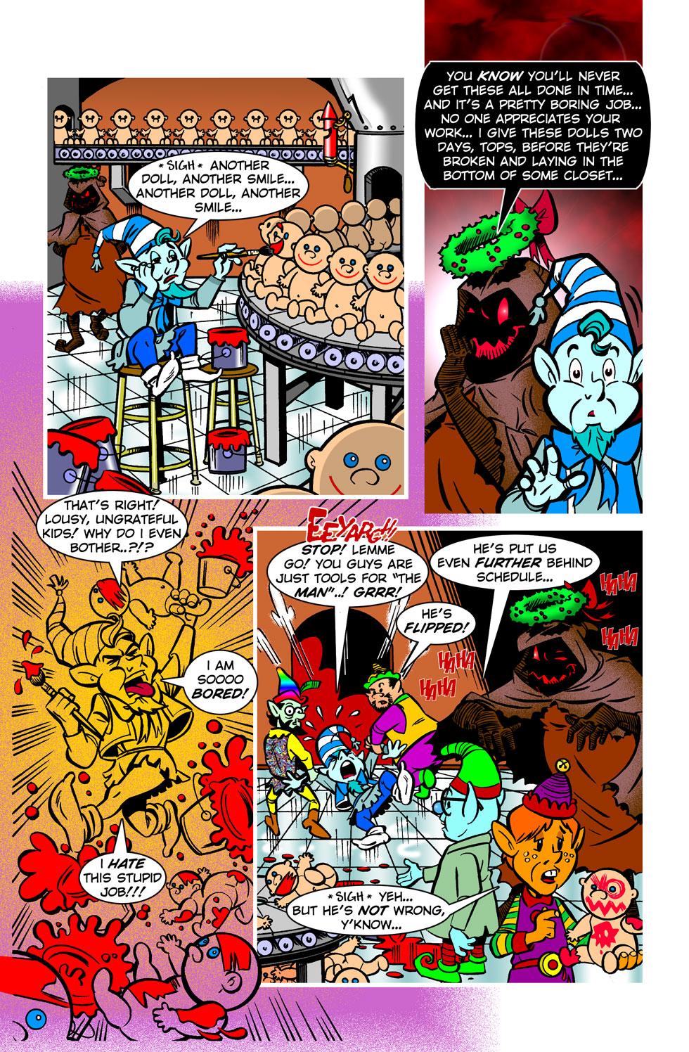 Snowy Joey And The Christmas Dinosaurs — Pg 17