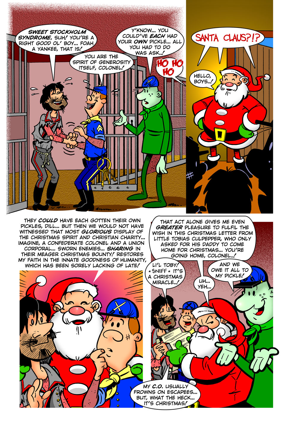 Dill Gherkin And The Legend Of the Christmas Pickle — pg 32